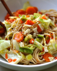 Can There Ever Be Too Many Stir Fries? Cabbage and Leek Stir Fry