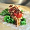 Green Papaya Salad Spring Rolls