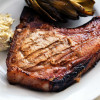 Sweet Mustard BBQ Pork Chops