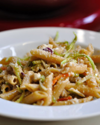 Tilapia-Noodle Slaw and Some Family History