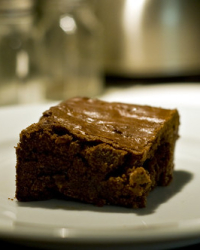 Peanut Butter Cup Brownies for Lent