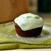 Vegan Chocolate Cupcakes with Mint Icing