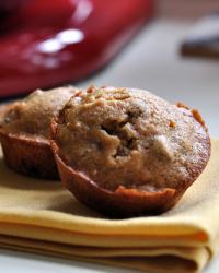 Carrot Ginger Muffins