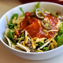 Simple meals are tasty too! Easy Taco Salad