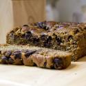 Vegan Banana Walnut Chocolate Chip Bread