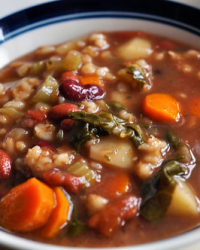 Soup's On! Beef Vegetable & Barley (Part 2)