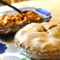 Rum Raisin Apple Pie