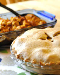 Rum Raisin Apple Pie