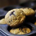 Cherry, Chocolate and Orange Muffins