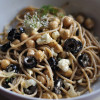 Olive, Chickpea and Feta Salad