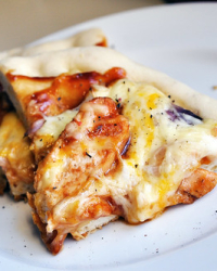 Grilling in the Fall: BBQ Chicken Pizza