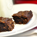 Sour Cherry and Coconut Fudge Brownies