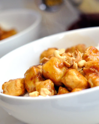 How About a Little Cashew Tofu?