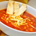 Spicy Chicken Tortilla Soup and Snow Daze