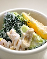 Vegan Creamy Broccoli Salad and No More Dark Photography!