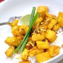 Spicy Vietnamese Lemongrass Tofu Inspired by... Andrew Zimmern's Bizarre Foods?