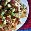 Comfort Food Makeover: Spicy Pork and Black Bean Nachos