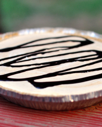 Lightened Peanut Butter Pie For Mikey and Jennie (#apieformikey)