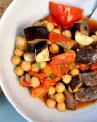 Moroccan Steak and Vegetables