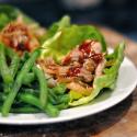 Paleo Shredded Pork Lettuce Wraps