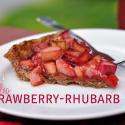 Paleo Strawberry-Rhubarb Pie