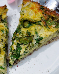 Simple Paleo Veggie Quiche