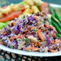 Fresh and Savory Quinoa Salad