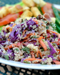 Fresh and Savory Quinoa Salad