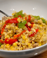 Easy Sweet Corn Hash