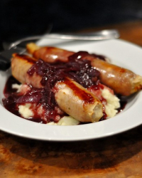 Paleo Bangers and Mash