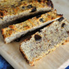 Paleo Flax and Raisin Breakfast Bread