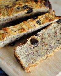 Paleo Flax and Raisin Breakfast Bread
