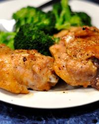 Dinner Last Night: Paleo Sticky Baked Chicken