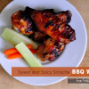 Sweet and Spicy Sriracha BBQ Wings