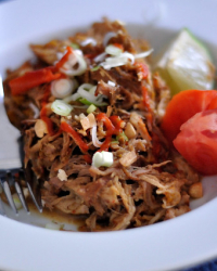 Paleo Thai Pork with Almond Sauce