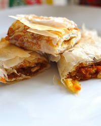 Project Food Blog Challenge #2: Our First Tikvenik or Bulgarian Pumpkin Pastry