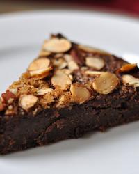 Vegan Chocolate Zucchini Cake...Tart?