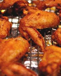 Paleo Crispy Baked Chicken Wings