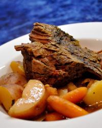 Slow Cooker Pork or Beef Pot Roast