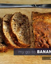 My Go-to Banana Bread