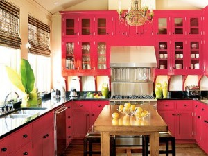Could You, Would You, Paint Your Kitchen Valentinesy Pink?