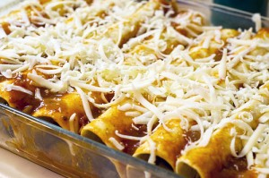 Super Veggie Vegan Enchiladas