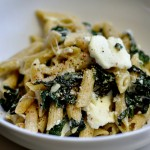 Baked Spinach and Ricotta Pasta