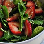 Sweet and Tangy Strawberry Salad