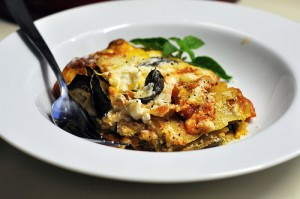 Hearty Fall Eggplant and Pepper Lasagna