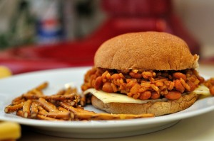 School Lunches Revisited: Vegetarian Extra Sloppy Sloppy Joes