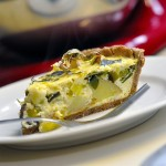 Spring Leek and Potato Tart…Quiche?