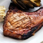 Sweet Mustard BBQ Pork Chops