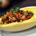 Veggie Stuffed Squash Boats
