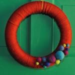 DIY Any-Season Yarn Wreath